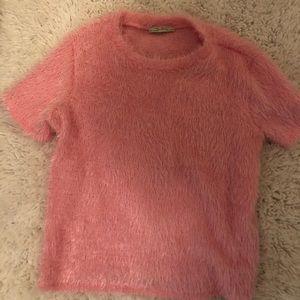 ZARA Pink short sleeved shirt